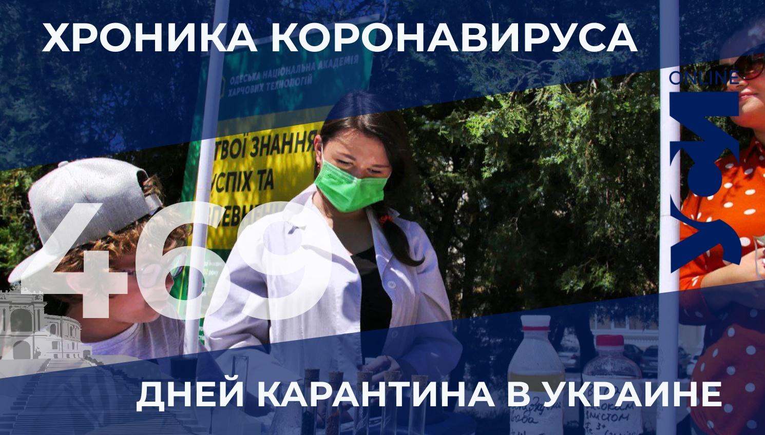 Хроника COVID-19: в Одесской области — 30 новых заболевших «фото»