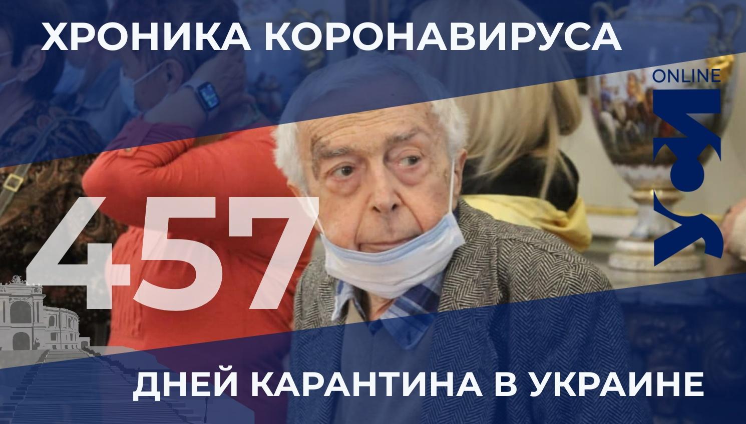 Хроника коронавируса: за день в Одесской области умерло 6 человек «фото»