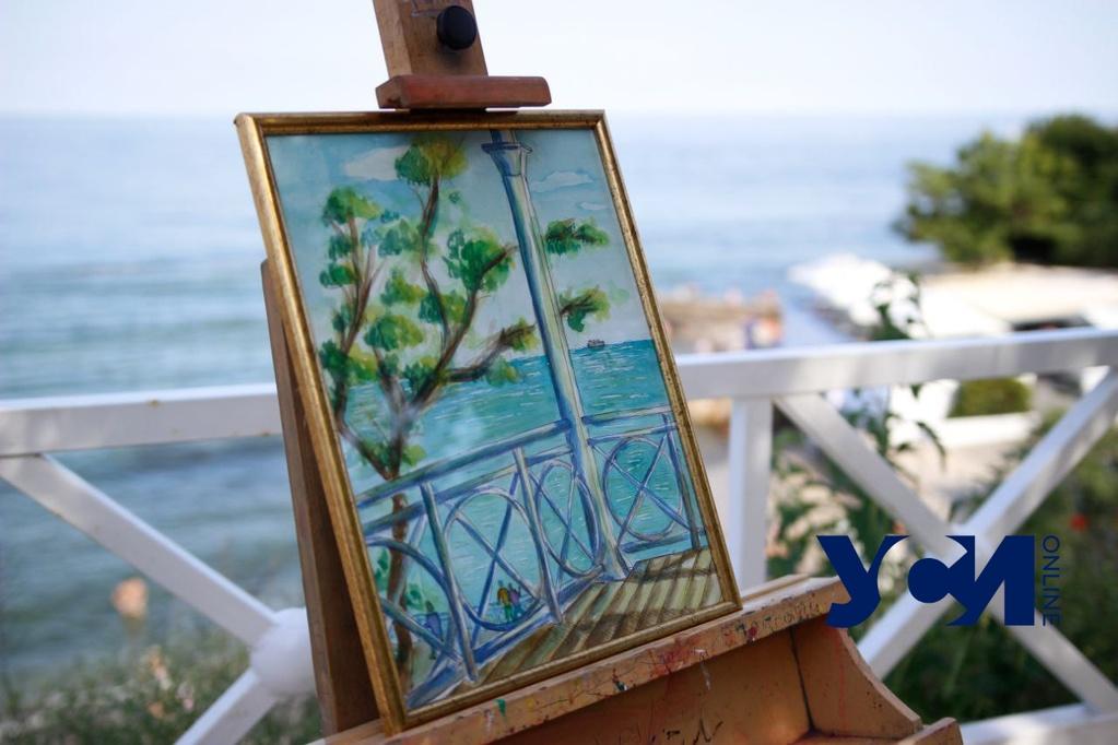 Юные художники устроили на Малом Фонтане ярмарку своих работ (фото) «фото»