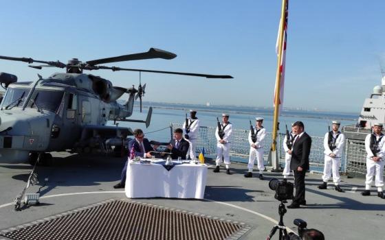 В Одессе подписали Меморандум о строительстве военных кораблей в Великобритании и Украине (фото) «фото»
