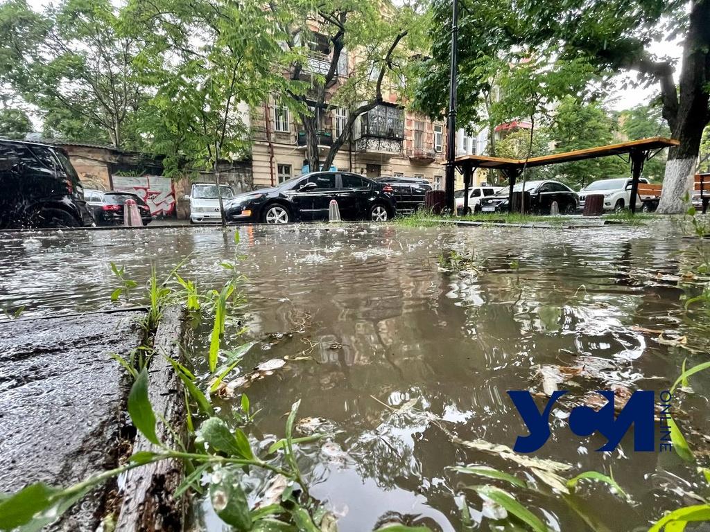 В Одессе локально прошел сильный ливень (фото, видео) «фото»
