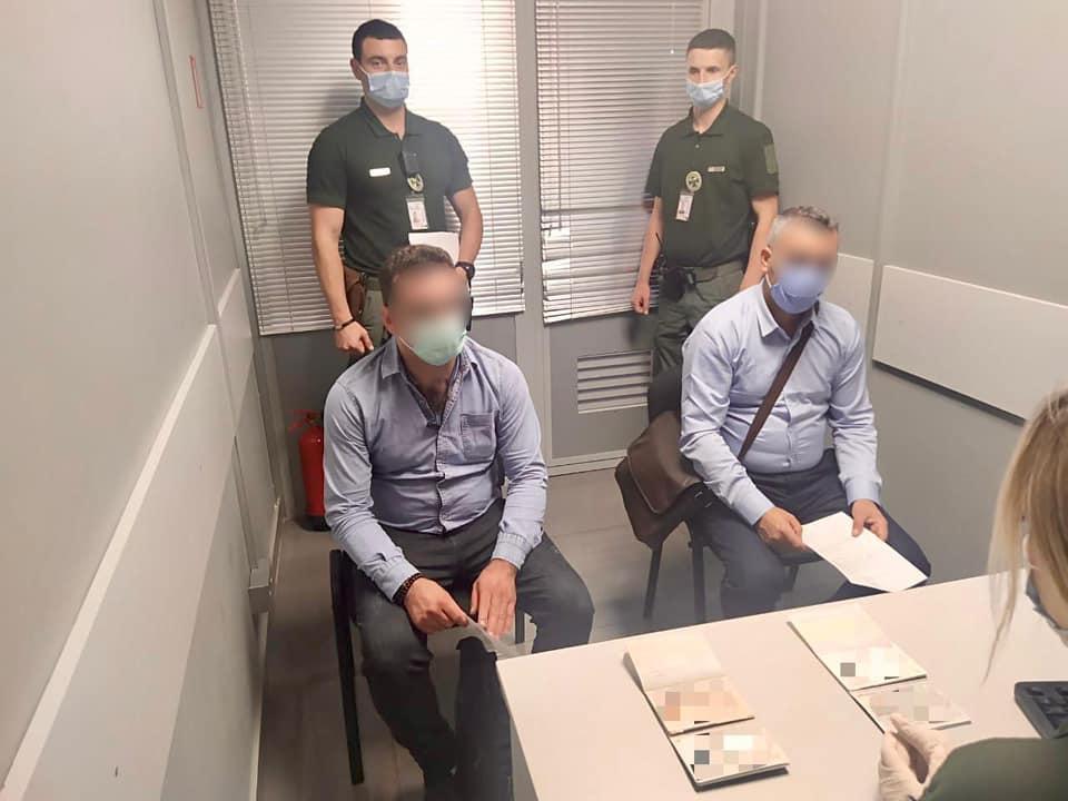 Иранцев с поддельными паспортами задержали в Одесском аэропорту «фото»