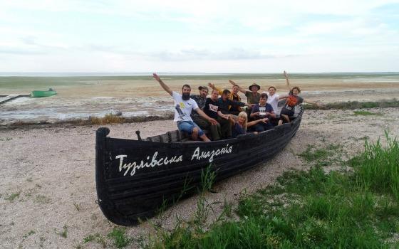В нацпарке Одесской области море соединили с лиманами «фото»