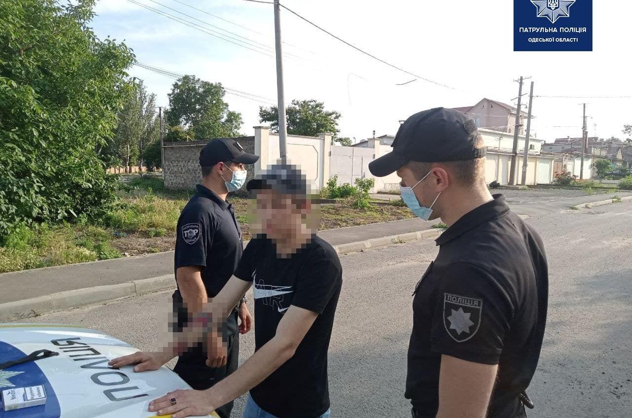 В Малиновском районе задержали закладчика (фото) «фото»