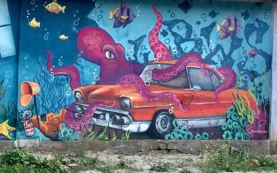 Под Одессой появился новый мурал (фото) «фото»