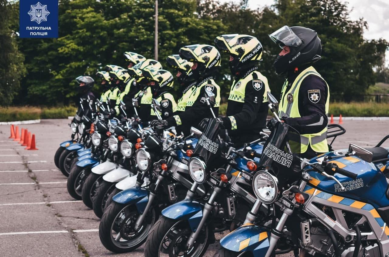 На улицах Одессы появятся патрульные на мотоциклах – они прошли спецобучение (фото, аудио) «фото»