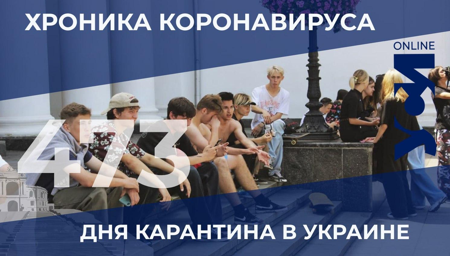Хроника коронавируса: Одесская область на третьем месте «фото»