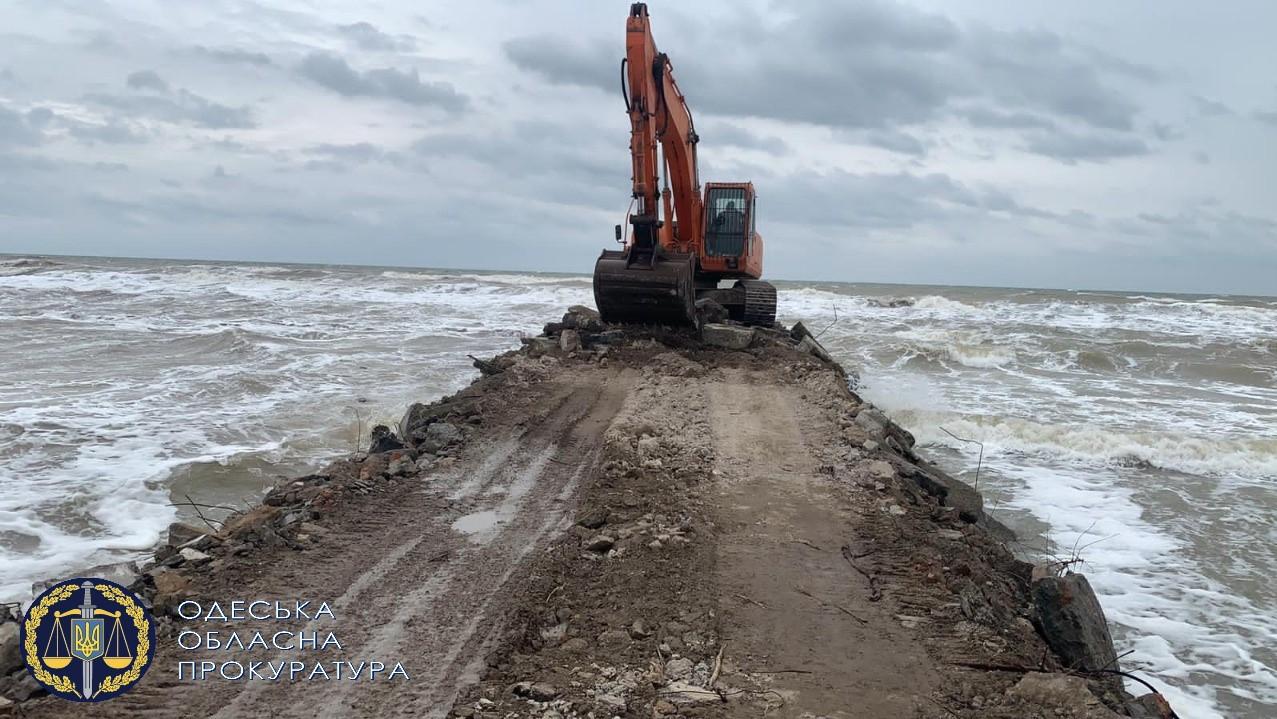 В Одесской полиции рассказали подробности захвата земли в Тузловских лиманах «фото»