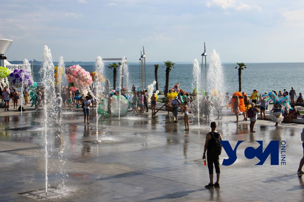 Одесситам обещают жаркий понедельник «фото»