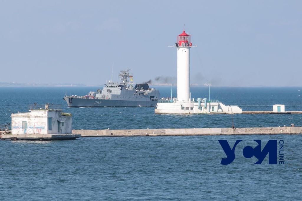В Одессу прибыл румынский корвет (фото) «фото»