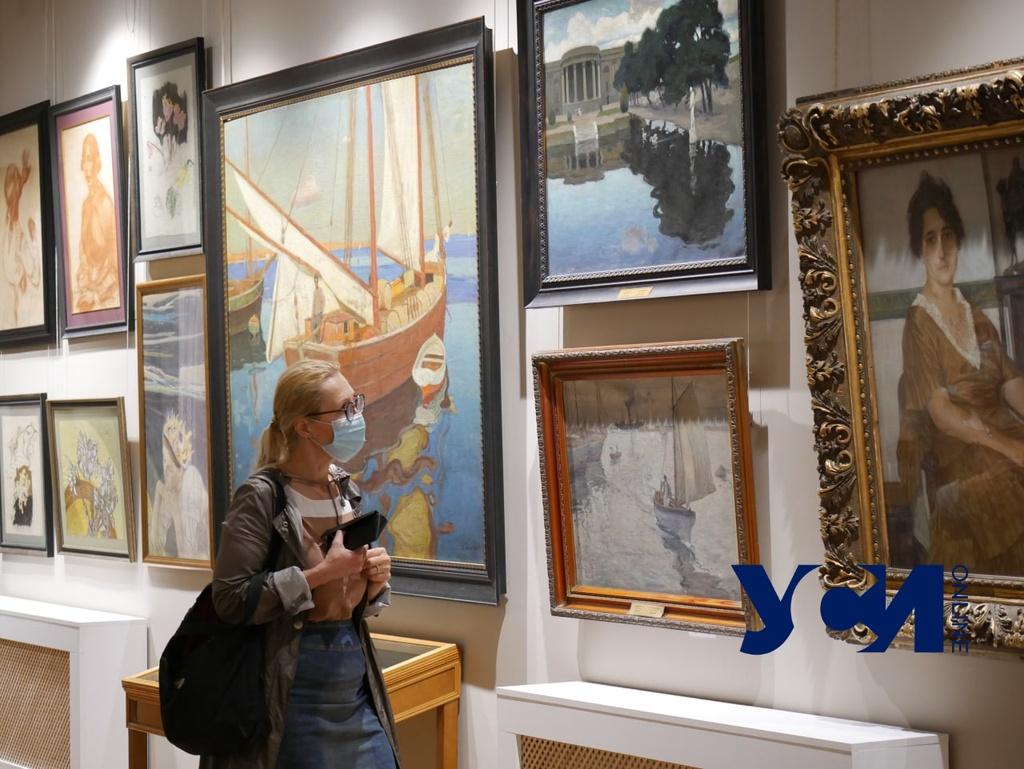 В Одесском худмузее показали «Fioretti» живописца Пауля Шварца (фото) «фото»