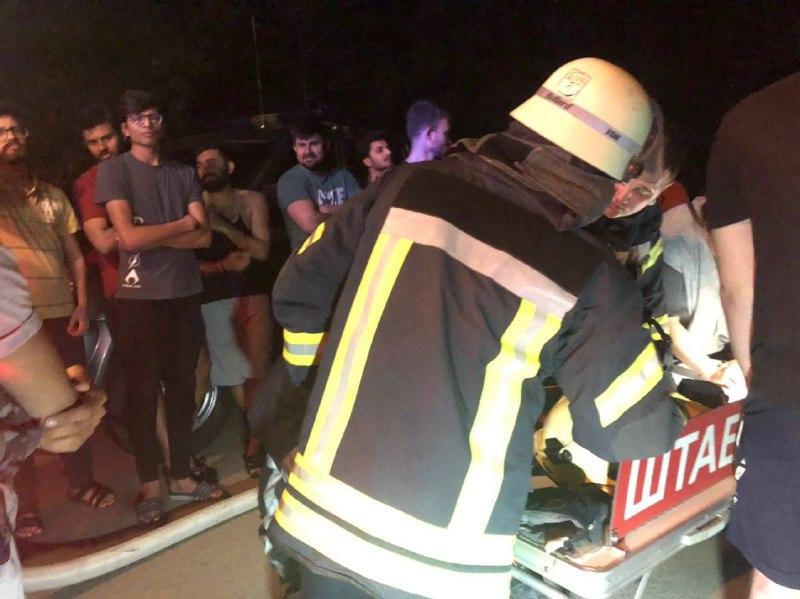 Ночью в Одессе горело общежитие медина: пострадал студент (фото) «фото»