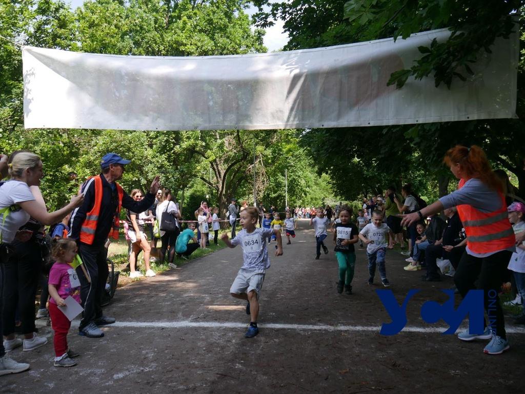 Олимпийский день стартовал в одесском парке Победы (фото) «фото»
