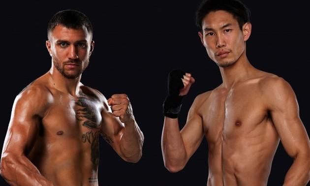 Ломаченко одолел японского боксера техническим нокаутом «фото»