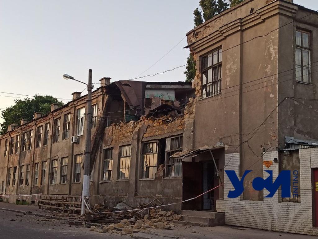 На Молдаванке обрушилось здание (фото) Обновлено «фото»