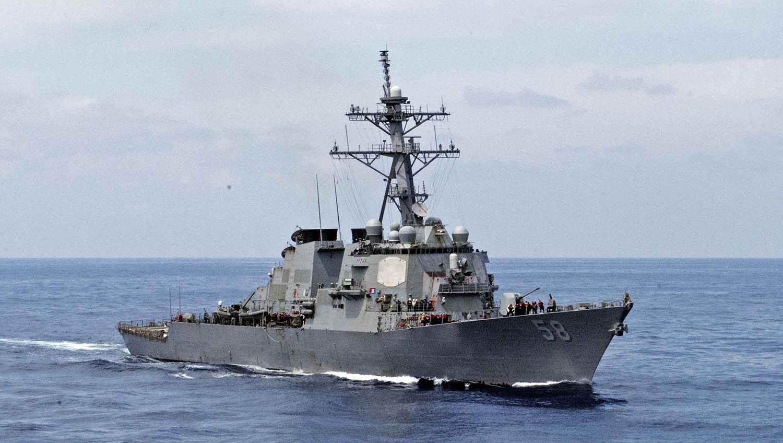 В Черное море идет американский эсминец «фото»