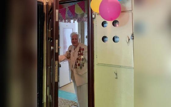 Одесситке-ветерану исполнилось 100 лет (фото) «фото»