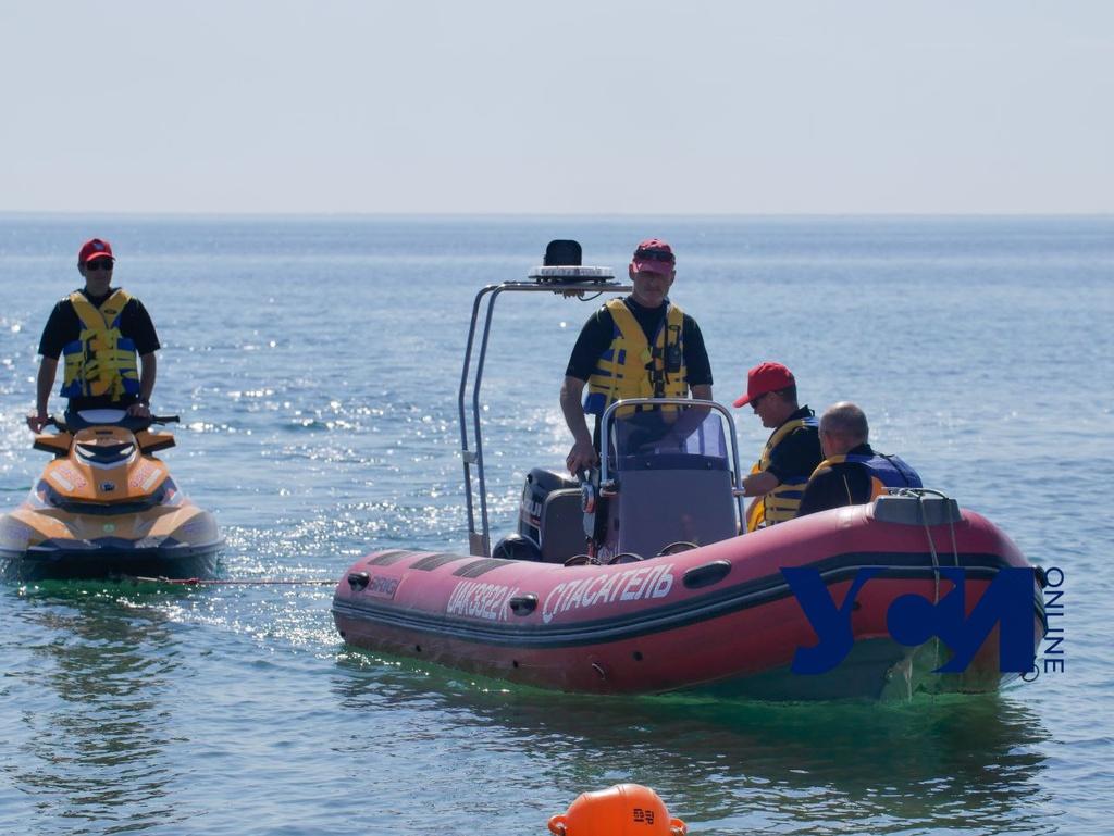 На Ланжероне проходят учения водолазов (фото) «фото»