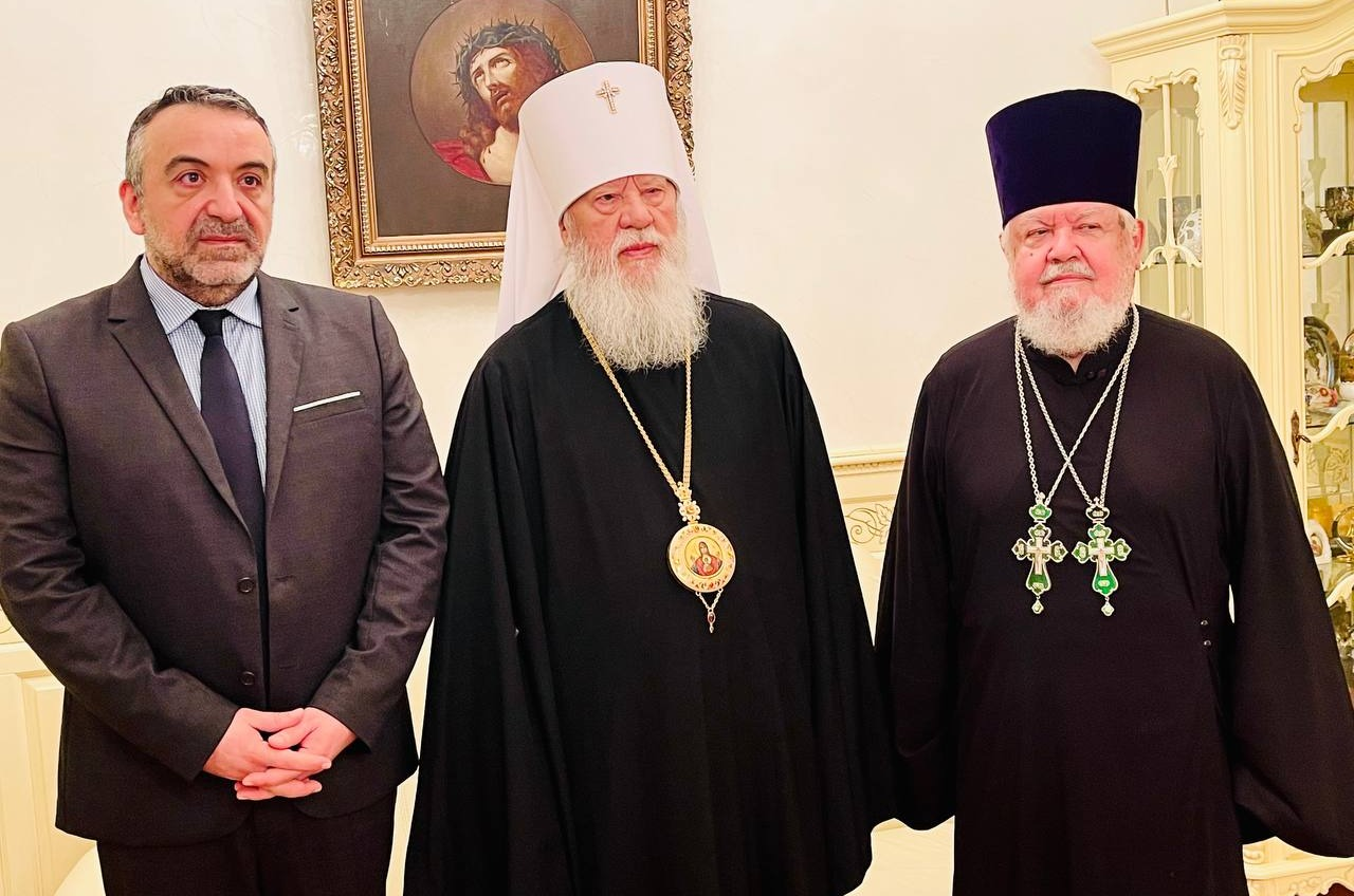 Агафангел пожаловался на томос генконсулу Греции в Одессе (фото) «фото»
