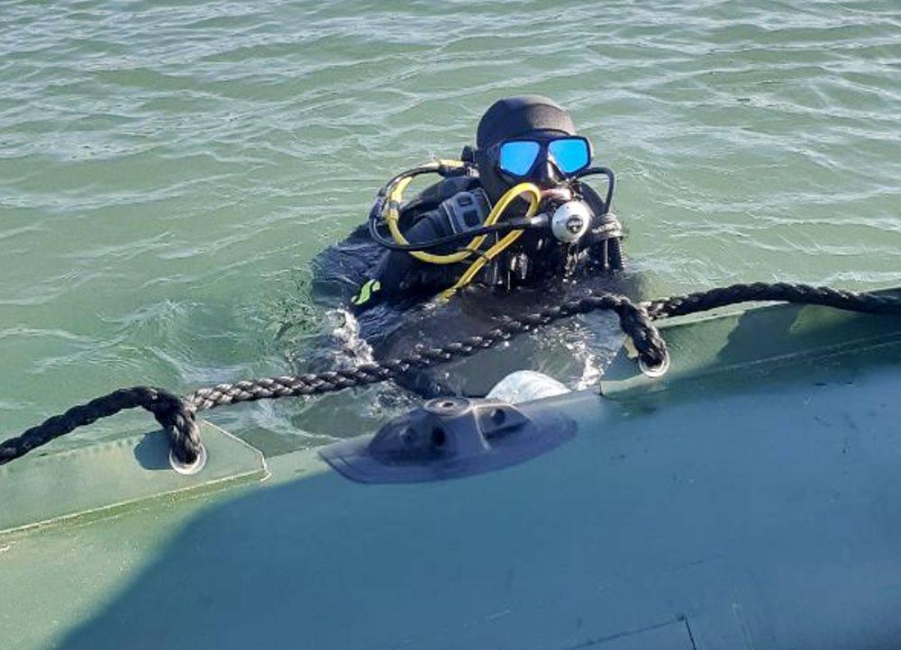 Под Одессой на затонувшем судне нашли снаряды времен Второй мировой (фото) «фото»