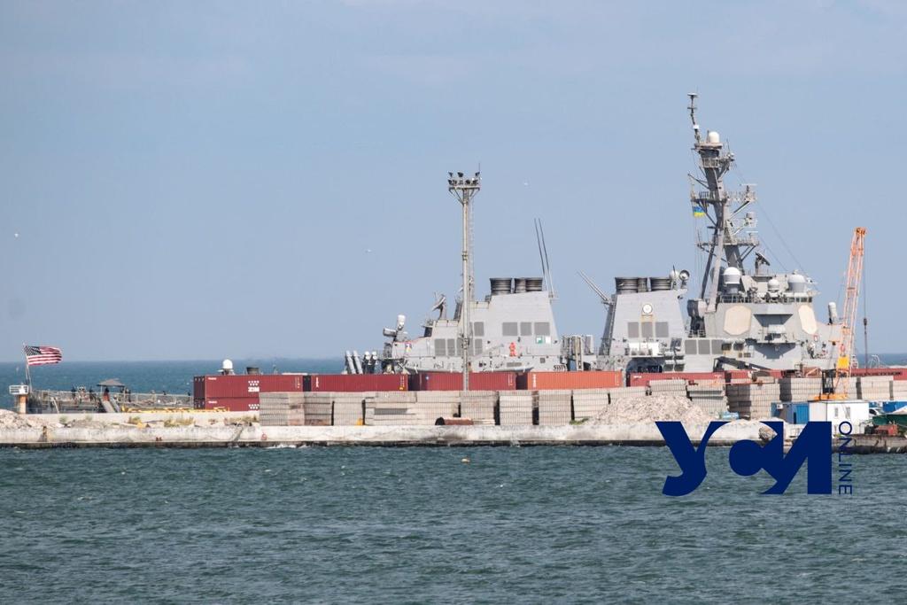 В порт Одессы зашел американский эсминец, вооруженный «Томагавками» (фото) «фото»