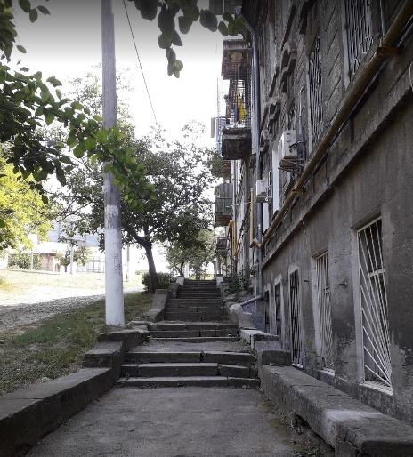 На Балковской отремонтируют спуск за 2,1 миллиона «фото»