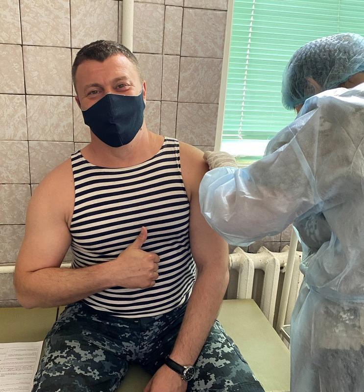 Пограничников-участников Си Бриза вакцинировали СoronaVac и Pfizer (фото) «фото»