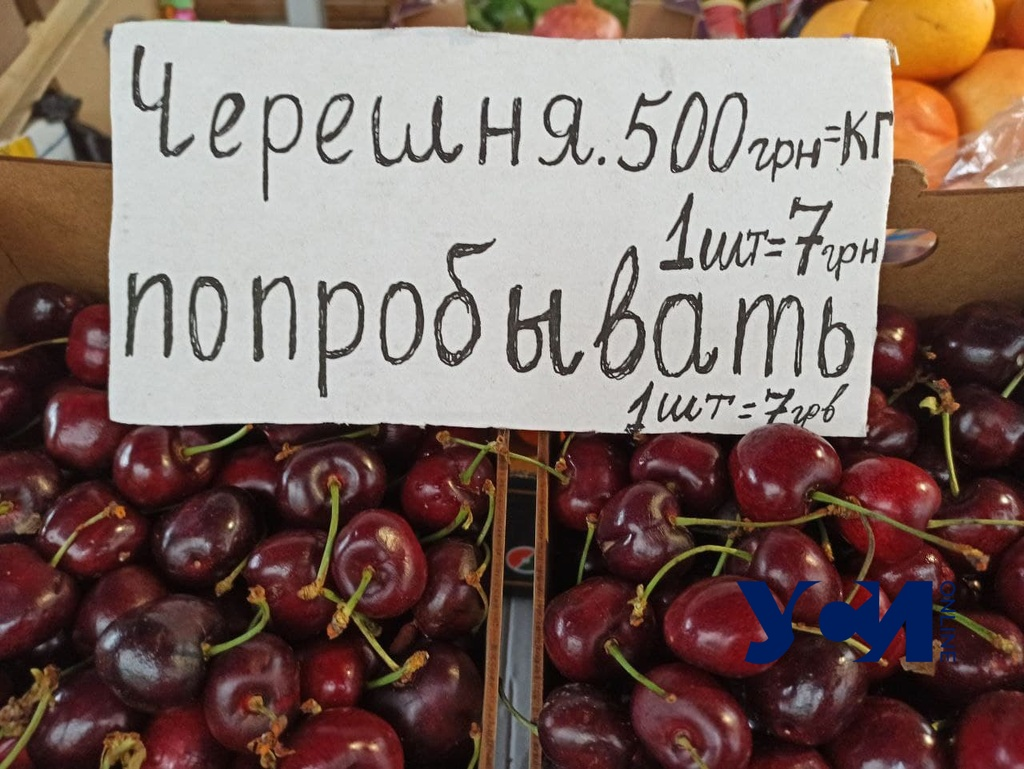 В Одессе начали продавать первую черешню: цена заоблачная (фото) «фото»