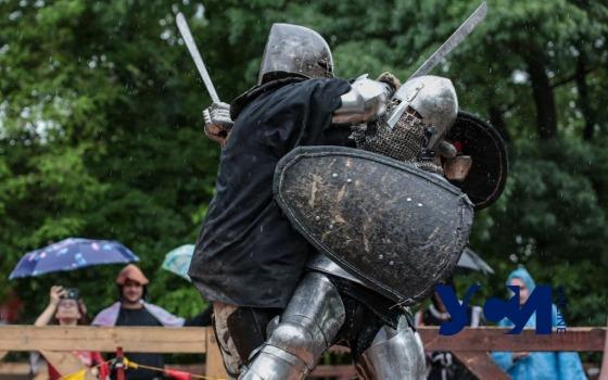 Как рыцари сражались в парке Шевченко на средневековом фестивале (фото) «фото»