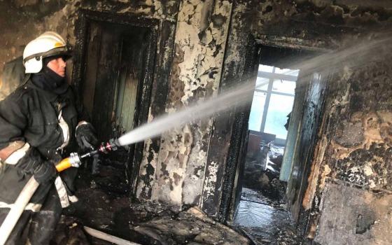 В Одессе горел санаторий «Красные зори» (фото) «фото»