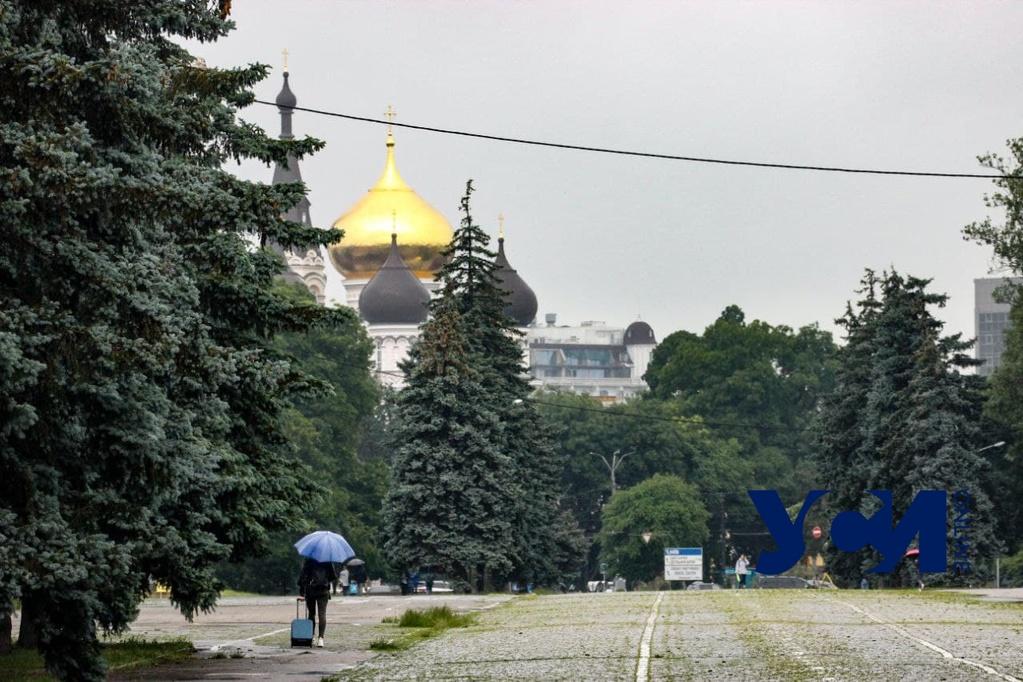Накануне Троицы в Одессе прогнозируют дождь «фото»