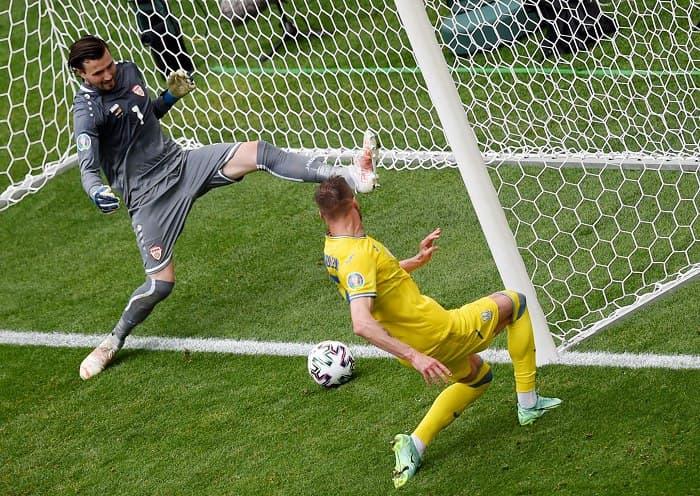 Сборная Украины победила Северную Македонию 2:1, Бущан отбил пенальти! «фото»