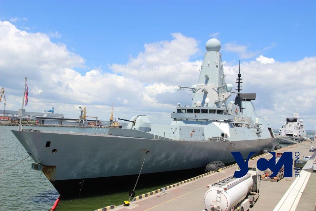 Инцидент с эсминцем у берегов Крыма: Великобритания не признает российских претензий «фото»