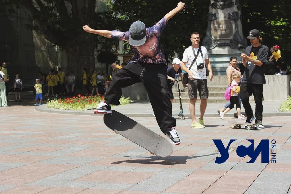 Возле мэрии скейтеры отметили свой праздник (фото, видео) «фото»