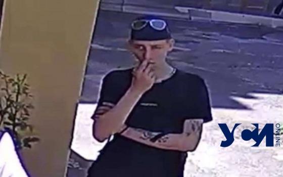 В Одессе парень украл вещи с веревки во дворе, но «засветился» на камере (фото, видео) «фото»