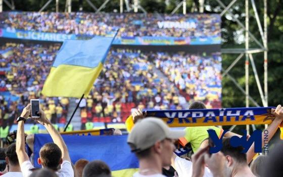 Сборная Украины проигрывает Австрии, все висит на волоске: одесские болельщики следили за игрой (фото, видео) «фото»