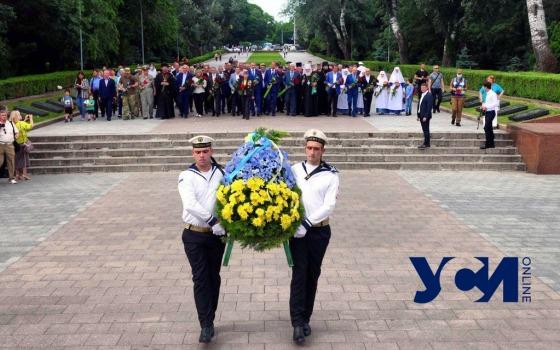 День памяти и скорби: в Одессе прошло возложение цветов (фото, аудио) «фото»