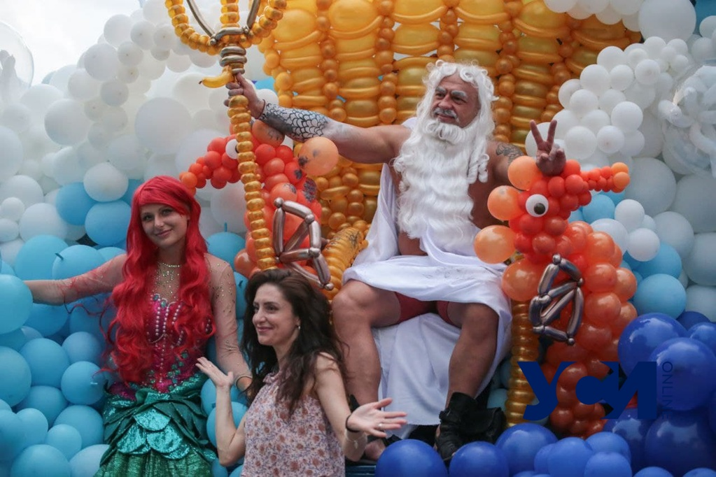 Дефиле в шариках: на Думской площади отметили день Нептуна (фото) «фото»