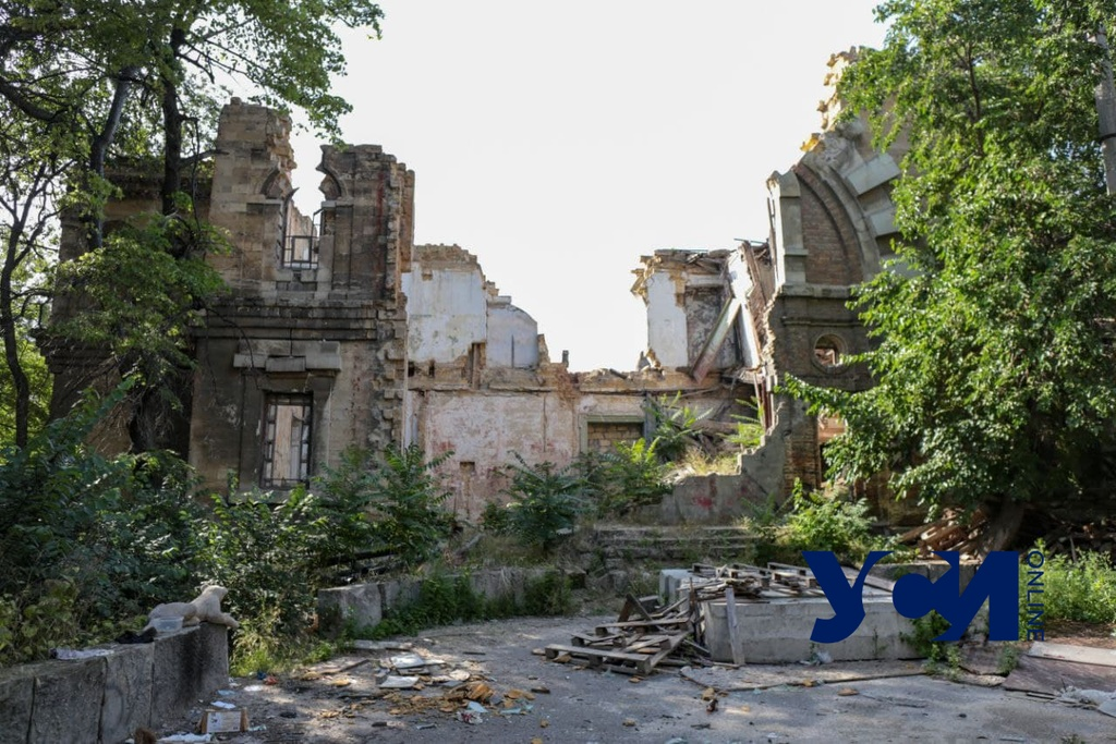 Масонский дом через 5 лет после обрушения: руины остались, охраны нет (фото) «фото»