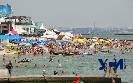 Минздрав: на пляжах Одессы купаться можно «фото»