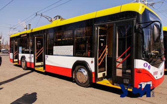 В Одессе три маршрута троллейбуса будут ездить до 12 ночи «фото»
