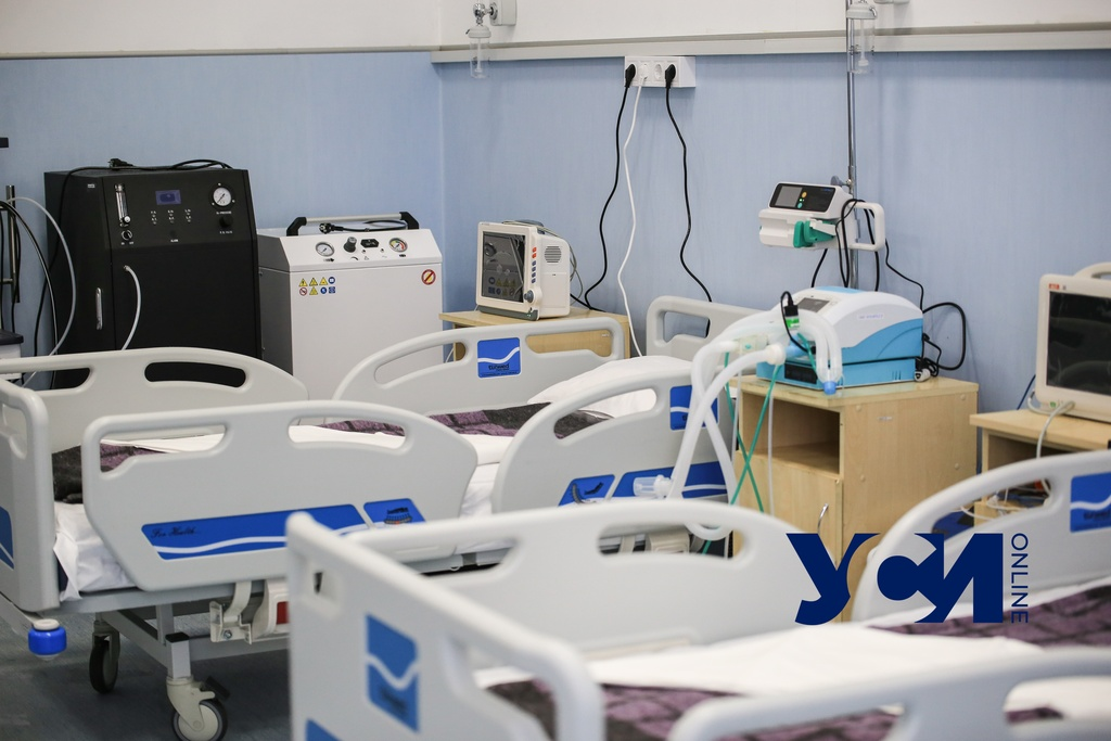 В Одессе сократилось количество ковидных больниц (фото) «фото»