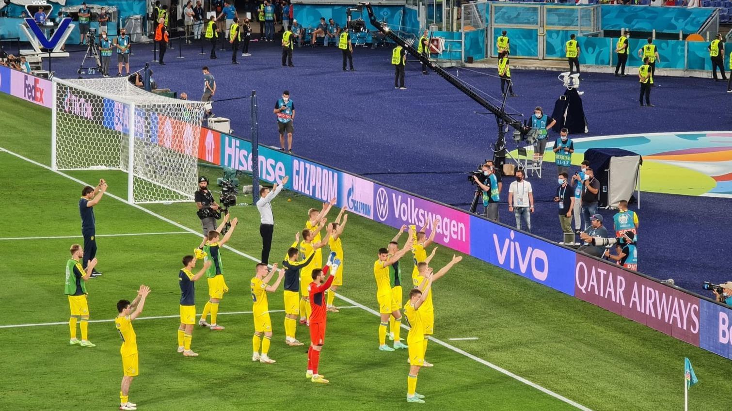Украина разгромно проиграла Англии и покинула чемпионат Европы (фото) «фото»