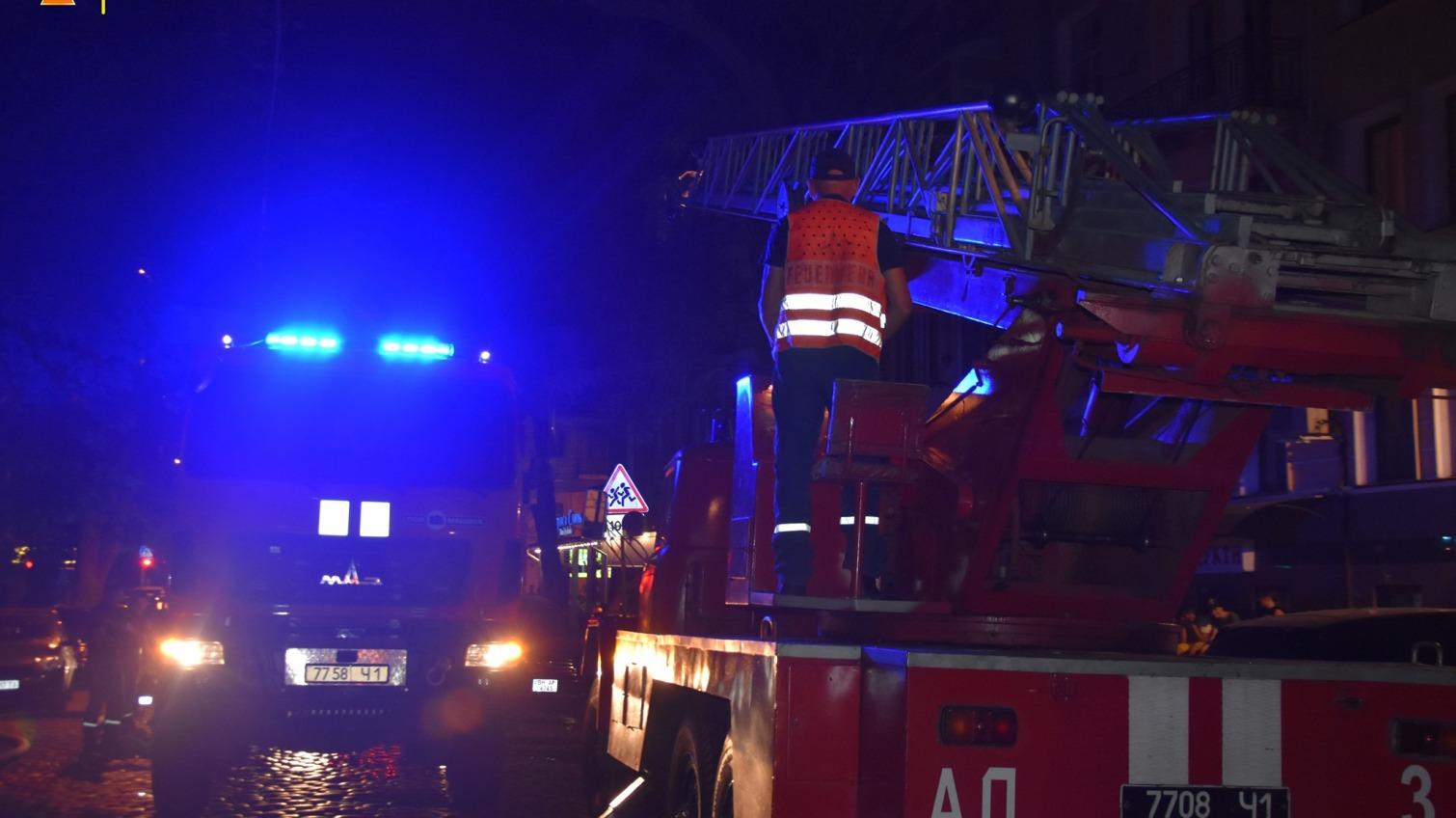 Стали известны подробности пожара на Кузнечной (фото) «фото»