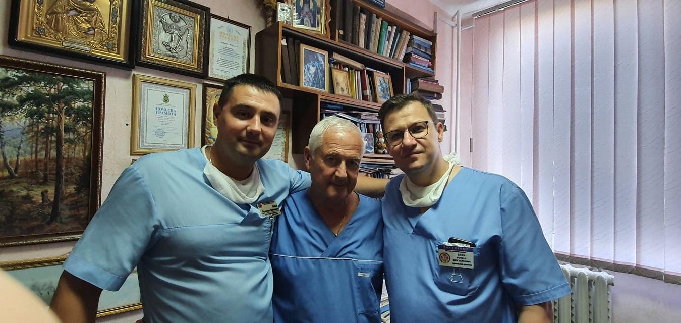 В Одессе военные медики помогли спасти полицейского «фото»