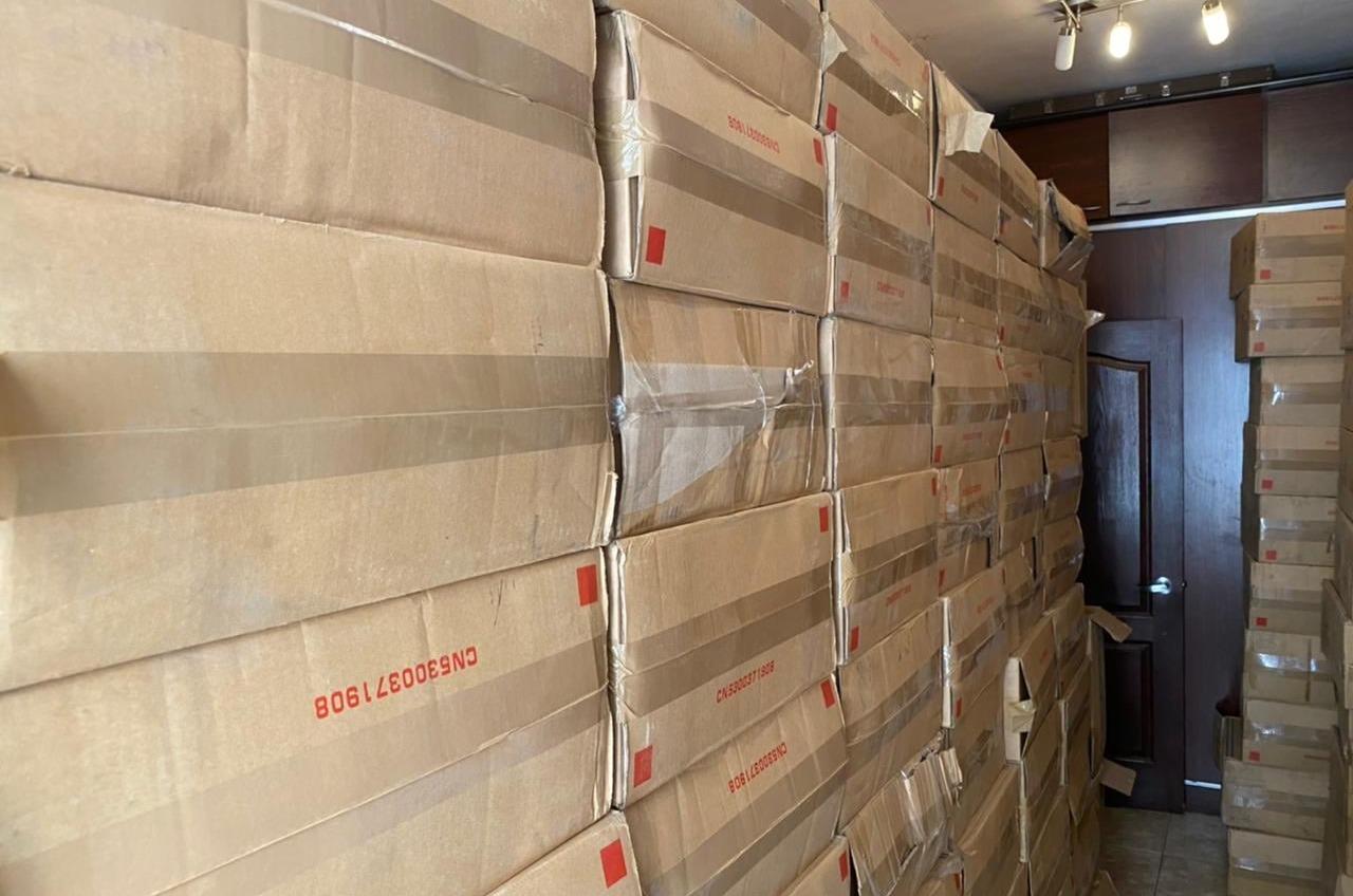 Груз на 1,5 миллиона: в Одесской области нашли 52 тысячи контрабандных пачек сигарет (фото) «фото»