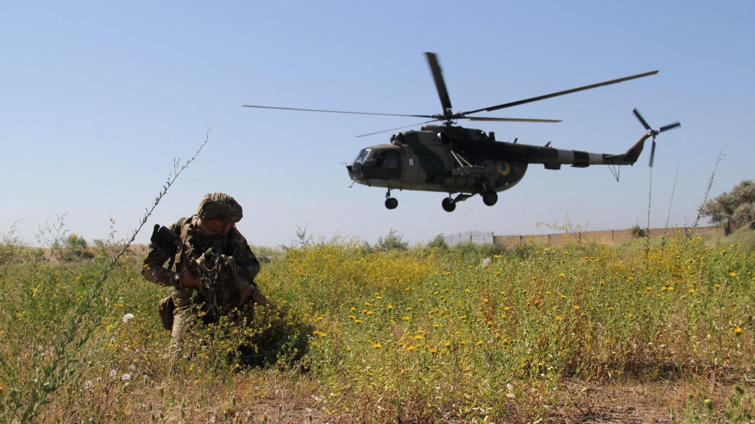 Одесские морпехи учились защищать стратегический объект (фото) «фото»
