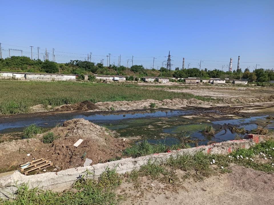 Буферный пруд на Балковской смогут расширить только в начале следующего года (фото) «фото»