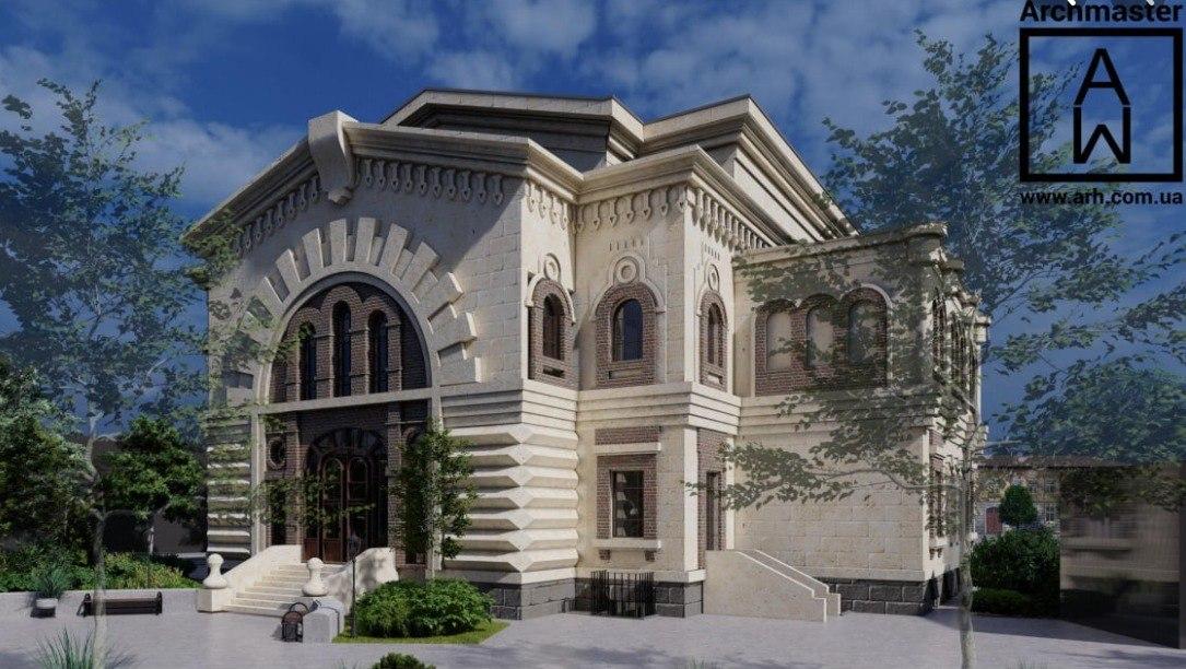 Масонский дом: есть эскиз, но реставрацию ждать не скоро (фото) «фото»