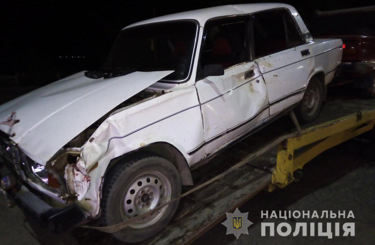 Под Одессой пьяный водитель на «Жигулях» сбил корову и сбежал «фото»